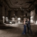 older couple ballroom dancing