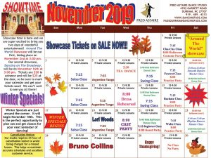 Durham Dance Calendar November 2019
